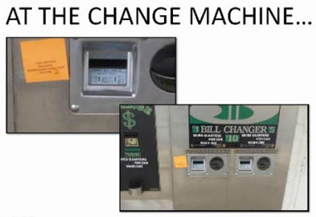 At The Change Machine