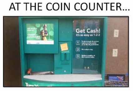 At The Coin Counter