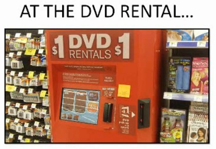At The DVD Rental