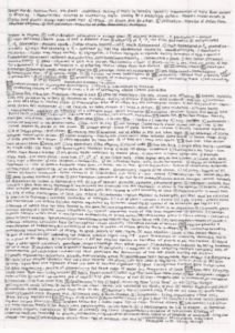 Example of tiny one-page final exam study notes.