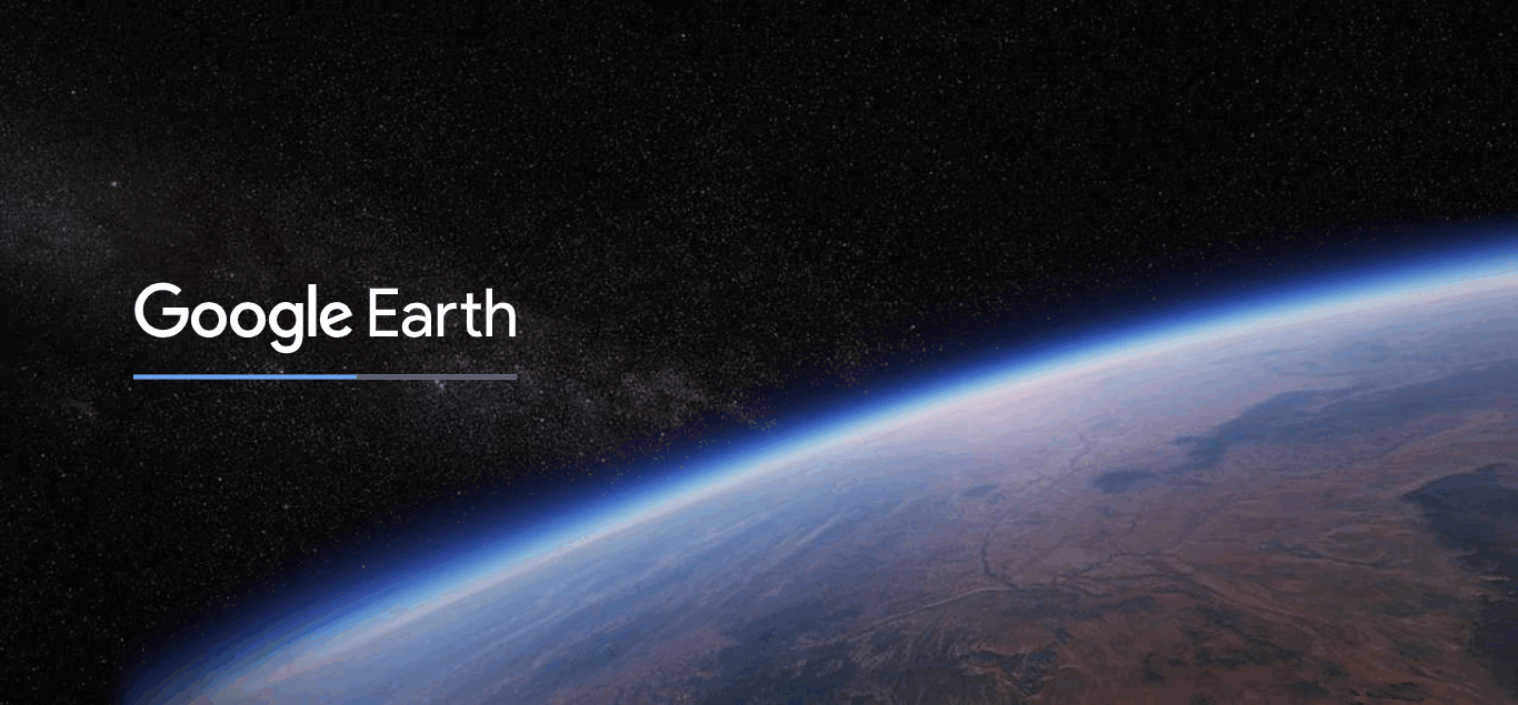 Googler Earth on web